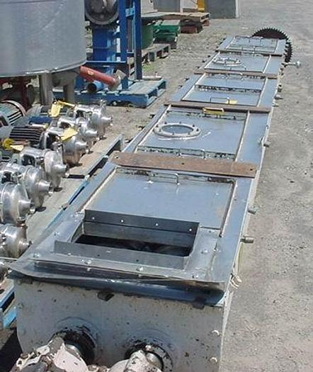 """USED DRYER / COOLER, HOLOFLITE TWIN SCREW, 24"""" WIDE X 20' LONG, STAINLESS STEEL"""