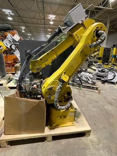 Used FANUC M-16iB/20, WITH R-J3iC CONTROL, CABLES & TEACH PENDANT.