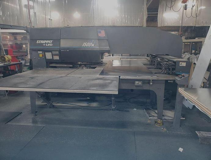 2000 33 Ton Strippit 1500H/30 CNC Turret Punch
