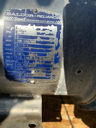 Waukesha Model 130 U1 Positive Displacement Pump