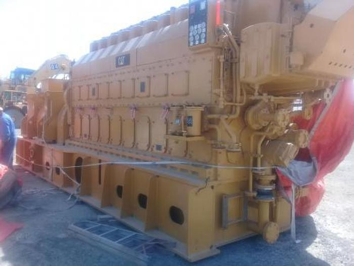 2.47 MW 2007 New Caterpillar MAK 9CM25 HFO Power Plant