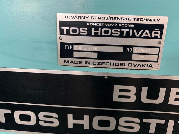 Szlifierka TOS BUB 40x1500