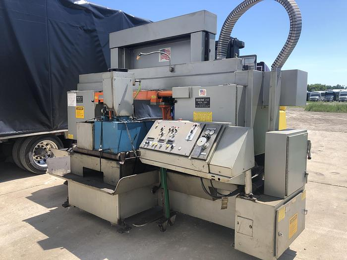 Used HEM MODEL H160XLM-DC DOUBLE COLUMN HORIZONTAL BAND SAW