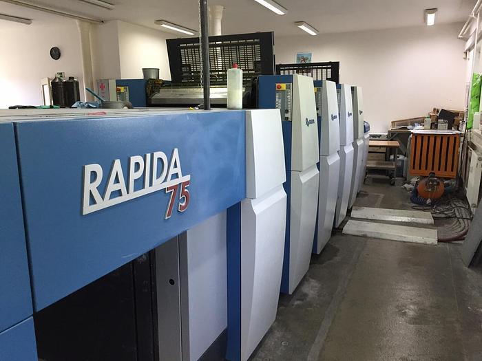 Použitý 2008 KBA Rapida 75-4
