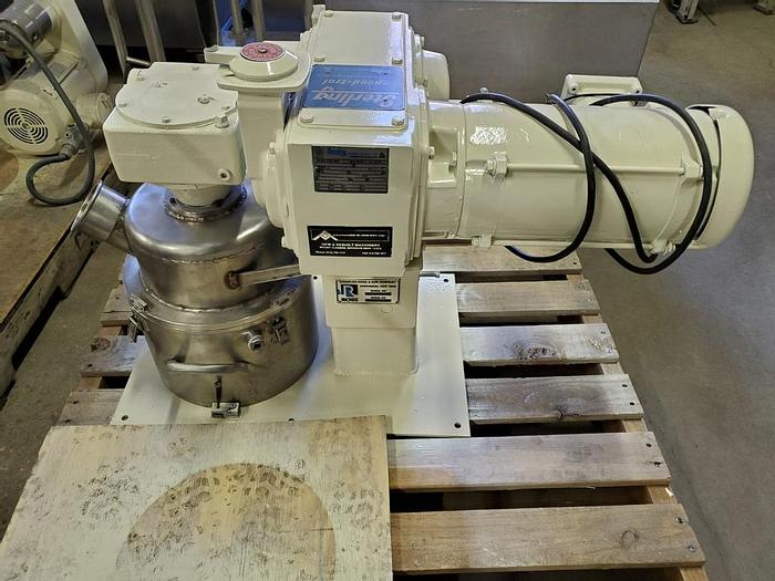 Used 2 GALLON ROSS DOUBLE PLANETARY MIXER – S/S – VACUUM – JACKETED (#9602)