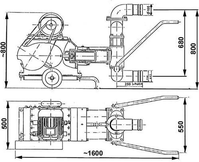 Używane Pompa tłokowa - JPN-66