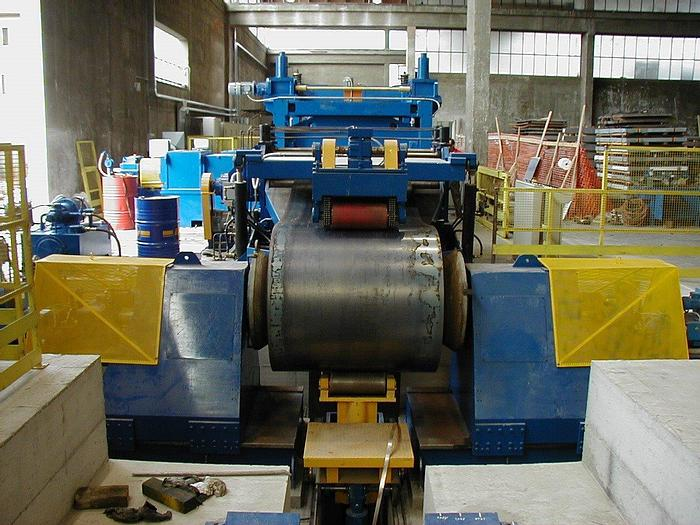 Used 2000 mm x 12 mm Cut-to-Length Line: CTL-136