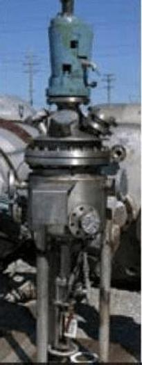 Used 10 GALLON NORTHLAND REACTOR – 316L S/S – 100/100 PSI