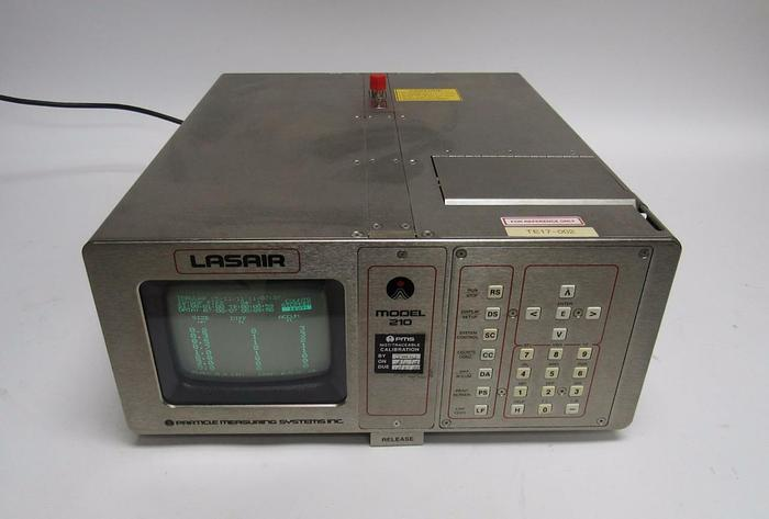 Used Particle Measuring PMS Lasair 210 Laser Particle Counter and Condensation (3945)
