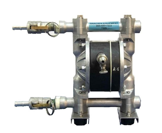 "Used Dayton 6PY49 Double Diaphragm Pump 1/2"" 12 gpm Max. USED (7329)R 190735370711"