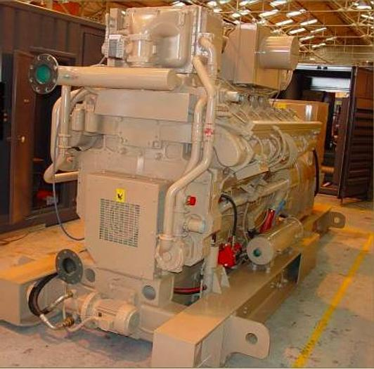 Used 1.4 MW 2014 Used Cummins GSK-60 Natural Gas Generator