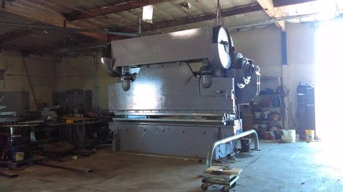 Chicago 500 ton 12ft brake press
