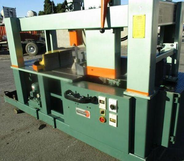 "1990 Trennjaeger Mdl PMC-8 Heavy Duty Ferrous Cold Saw 8 1/2"" Capacity 26"" Blade"