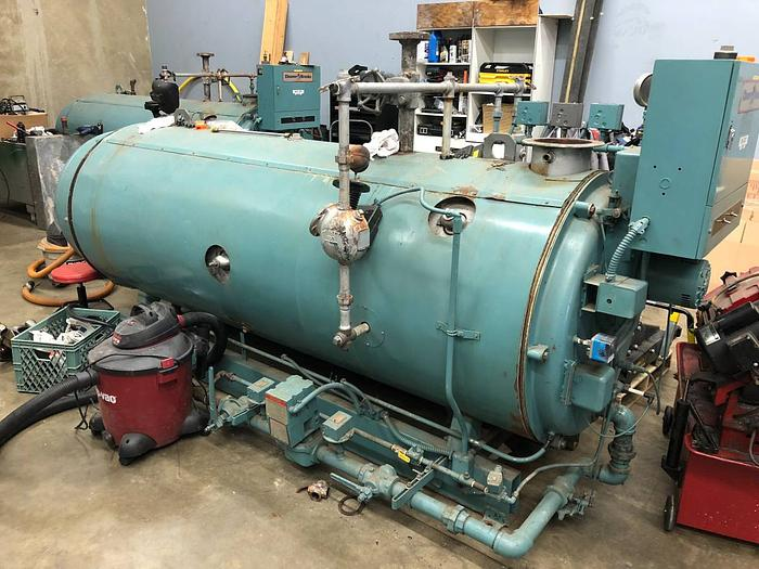 CLEAVER BROOKS BOILER - CBH-700-40 40 HP 150 PSI Steam