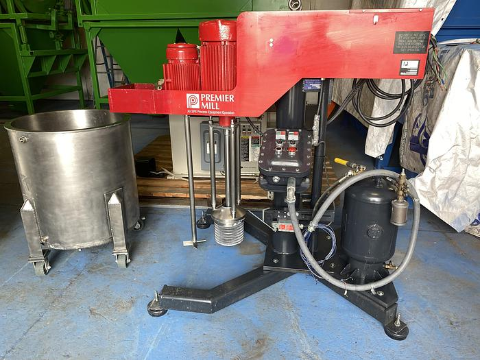 Used Premier Mill PSDM-55 submersible mill with mixer