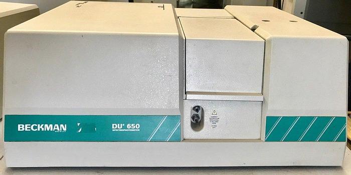 Used Beckman Coulter DU 650 Spectrophotometer