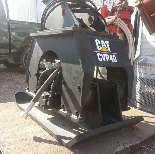 Vibro Compattatore, CATERPILLAR CVP 40 - per escavatore
