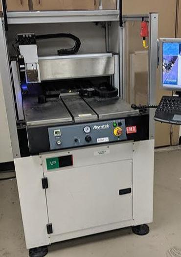 Used ASYMTEK   S-820 Spectrum batch underfill / glue dispenser, heated table