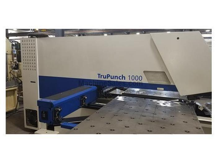 2006 19 Ton Trumpf Tru Punch 1000 Turret Punch