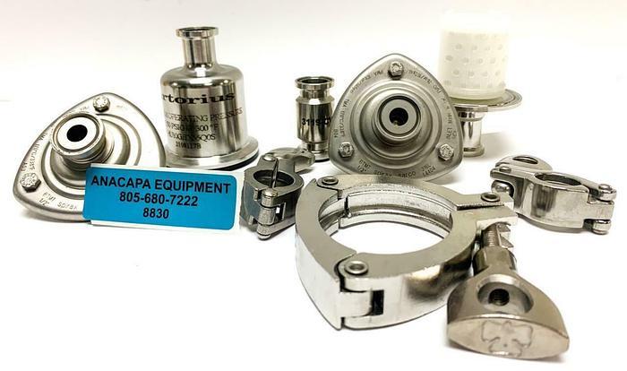 "Used Spirax Sarco, Sartorius BTM7 1/2"" SS Thermostatic Clean Steam Trap LOT (8830)W"