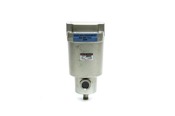 Used SMC AM550 Mist Separator 3500 Flow Rate (5088)