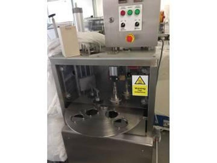 Used Flexi-Pak Semi-Auto Pot Sealing Machine