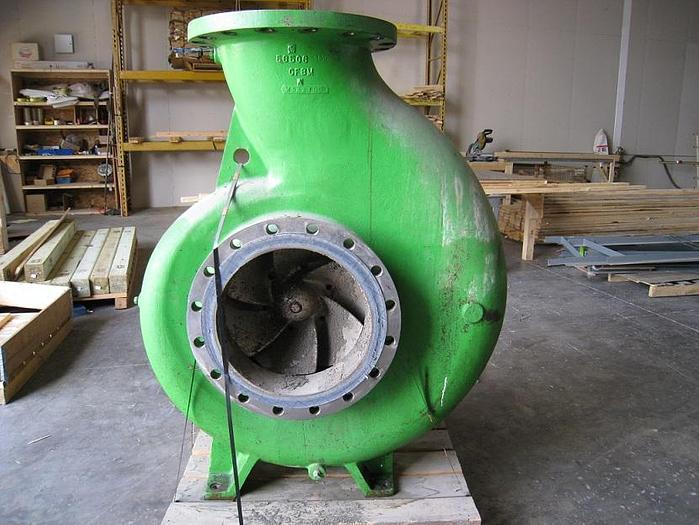 "Used GOULDS MDL 3175L  18"" X 18""  - 22 S/S PUMP"