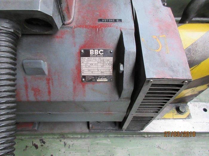 2200 ton Danieli / Breda Aluminum Profile Extrusion Press: EX-491