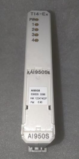 Gebraucht Temperature Input AI950S, TI4-Ex, ABB,  gebraucht