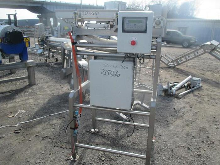 """Used WeighTech Conveyor; 10""""Wx4'L"""