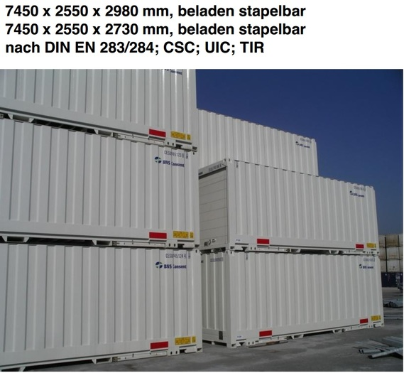 24 'Container Swapbody with rolling doors