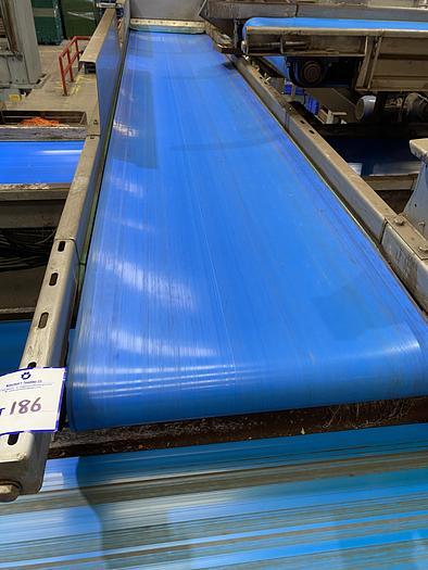 Used Stainless Steel Conveyor Belt 4m L 0.7m W