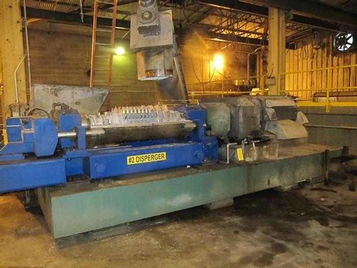 Used KNEADER DISPERGER AHLSTROM KAMYR MDR2000H 150HP