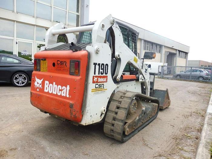 2010 Bobcat T190 - PESO 37QL