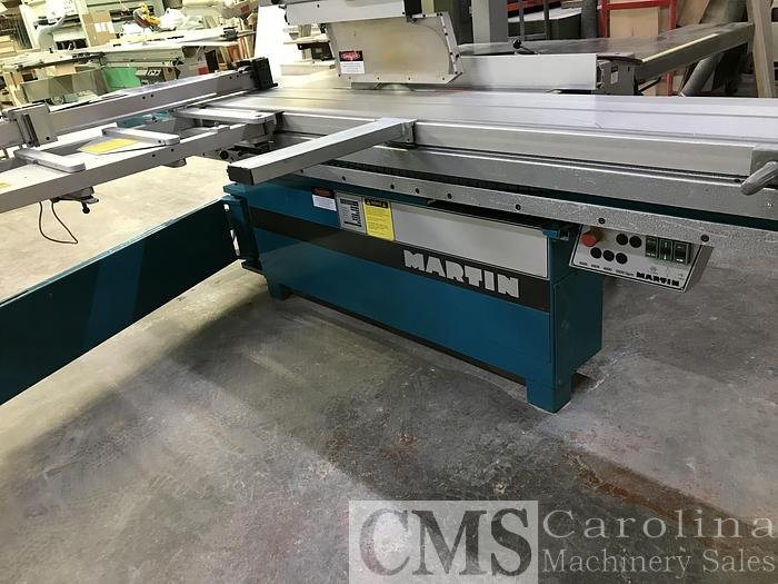 Used 2001 Martin T72A Sliding Table Saw