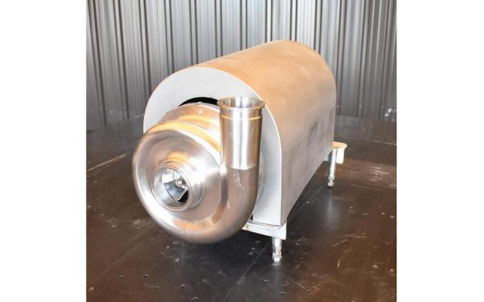 """USED AMPCO CENTRIFUGAL PUMP, 3"""" X 2.5"""", STAINLESS STEEL, SANITARY"""