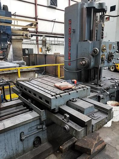 "Used 3"" Giddings & Lewis Horizontal Boring Mill, Table 30"" x 48"", X=48"", Y= 36"", 15 hp, 1500 rpm  300T"