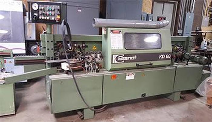 Used Brandt KD 68 Edgebander