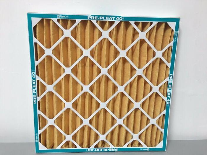 Used Flanders NaturalAire Pre-Pleat 62R Air Filter, MERV 11, 10 x 10 x 1-Inch Qty: 10