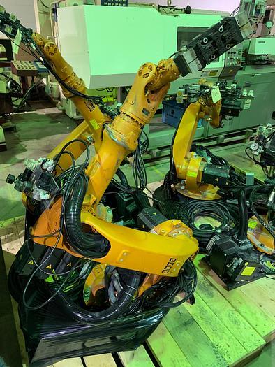 2006 KUKA KR6 ARC 6 AXIS CNC ROBOT 6KG X 1611MM W/KRC2 ed05