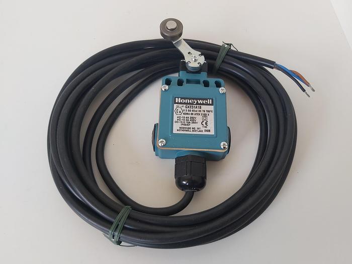 Ex geschützter Endschalter mit Rollenhebel, GXE51A1B, Honeywell,  neu