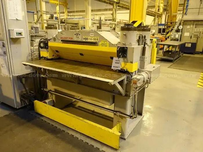 Used HRC Hammerle  HRC 30 /1250 roll leveling machine