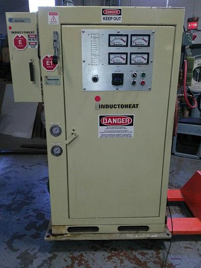 Used INDUCTOHEAT INDUCTION HEATER 50 KW, SP12-50-10