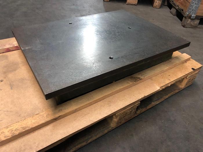 Gebraucht Anreissplatte aus Stahl Tuschierplatte 800 x 600mm