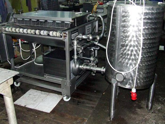 Used Maszyna do tempury z mikserem - wykonanie nierdzewne