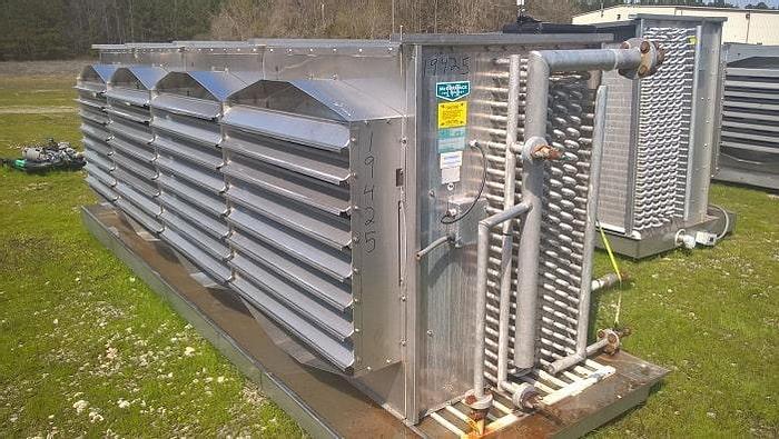 Used McCormack Ammonia Evaporator; Md#M4PCL078I103/16GBAIG-Q-U-RIGHT