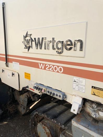 HB18022-2 Wirtgen Model 2200