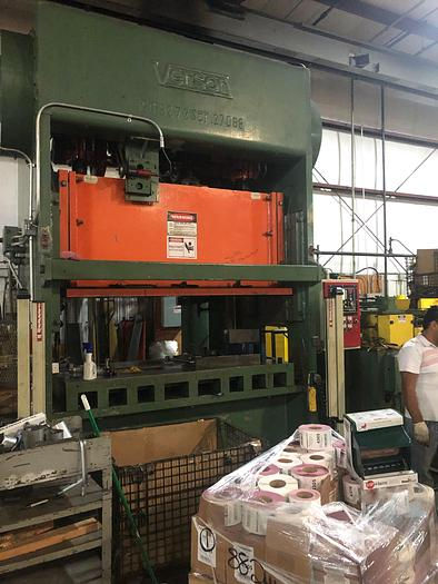 Used 150 TON VERSON SSDC PRESS