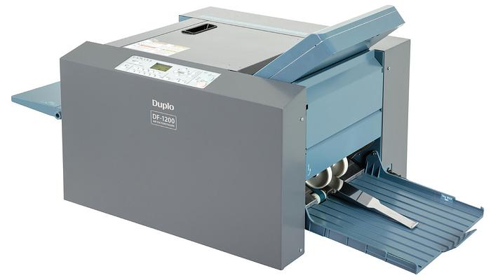 DUPLO DF-1200 Suction Feed Paper Folder