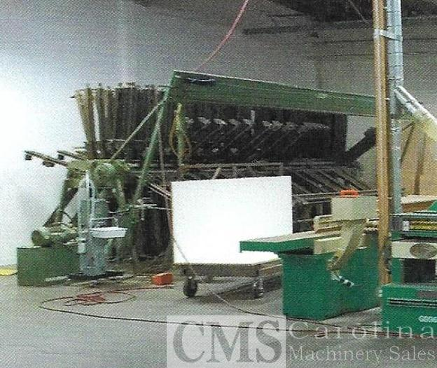 Used Doucet 16 section clamp carrier